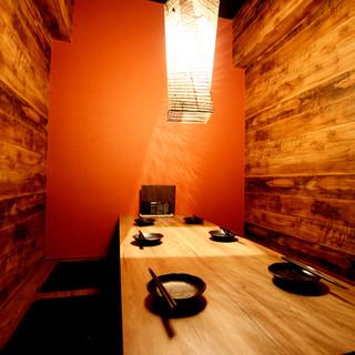 【2F】4~7名様★限定一席★完全個室.