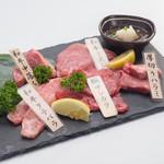 焼肉本舗 和家 - 料理写真:特選5点盛    ¥1980(税抜)※内容は仕入により変わります