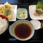JIVA食堂 - 鰆セット定食