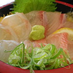JIVA食堂 - 白身三種丼