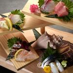 ユルリ - 天然鮮魚をふんだんに『お刺身階段盛り』