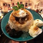 カフェ マラッカ - マレーシア ホワイトコーヒー のアイスカチャン(東南アジアかき氷)小梅うさぎのアイスカチャンかき氷