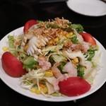中華菜館 水蓮月 - ロータス風海鮮サラダ