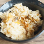 レストラン シズル - あさり炊き込みメシ