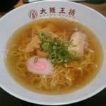 大阪王将 - 【煮干醤油ラーメン】¥600