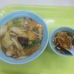 北海ラーメン - 五目焼そば(スープ付き)