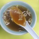 北海ラーメン - スープ