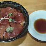 鮮魚鶏出汁麺 沢むら - まぐろ飯350円