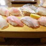 波布鮨 - 地魚にぎり