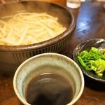 堺うどん ちはや - 釜揚げ(太麺)