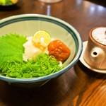 堺うどん ちはや - 料理写真:梅生醤油うどん