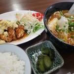 腰原食堂 - 料理写真:ドラゴンセット