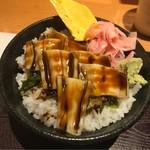 69342826 - 穴子丼。                       美味し。