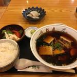 69343652 - ラーメン定食 小鯛酢漬け                       2017年6月30日実食