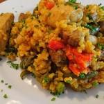 ラ・コシーナ・デ・ガストン - 豚肉と野菜のパエリア アップ(17-06)