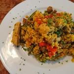 ラ・コシーナ・デ・ガストン - 豚肉と野菜のパエリア(17-06)
