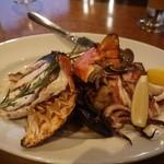 tcc Steak & Seafood - 魚介類のシーフードグリル