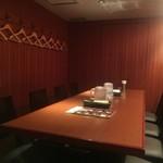 個室ジンギスカン 虎ノ美羊 - 8人テーブル