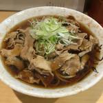 肉そばジョニー - 肉そば(¥480)