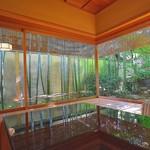 俵屋旅館 - この日宿泊した暁翠庵。窓の配置とお庭の調和。お見事。