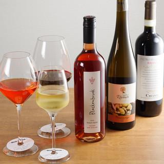 オーナーソムリエールが選ぶ厳選ワイン達