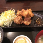 69350383 - ザンギ定食  650円