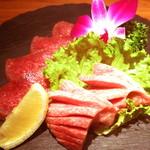 焼肉ダイニング GYUBEI - 熟成牛タン塩の味比べ 味付けし、じっくりと熟成させた当店おすすめの牛タン塩です。食べ比べ・味比べでご堪能いただけます。