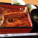 Washokutonadaiunaginoshimmise - 特上鰻重定食 ¥4,120