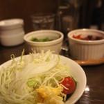 カフェ・エッシャー - サラダセット