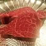 69358459 - 厳選 黒毛雌和牛 鉄板焼きステーキ