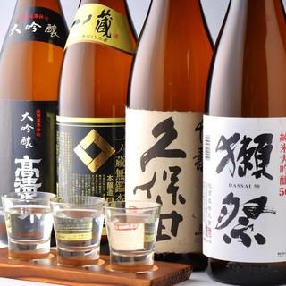 日本酒バルまるいち厳選【旬の日本酒を堪能】