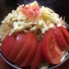お好み焼き しんてん - 料理写真:トマトチーズもんじゃ