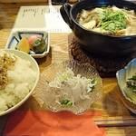 椿 - 山形芋煮定食      ¥980