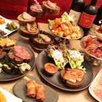 恵比寿焼肉寿司 別邸 - 料理集合