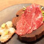 恵比寿焼肉寿司 別邸 - 和牛赤身