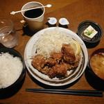 和風居酒屋 堂々 - からあげ定食¥500-