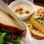 yummy - ハムカツとタマゴサラダのサンドイッチ     ¥1000
