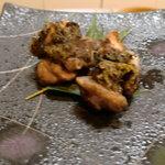五蘊 - 鶏ももの味噌焼き