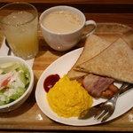 モリバコーヒー - 洋食モーニングプレートA