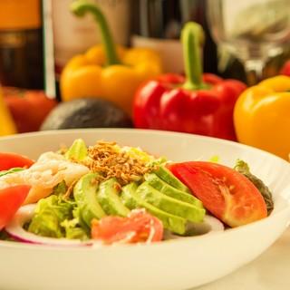 【新鮮!】契約農家から仕入れる野菜が大人気