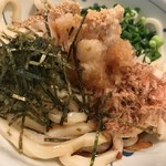 大地 - 料理写真:太陽の御膳(ミニ明太子ごはん、鶏天2個、ぶっかけうどん大森)880円