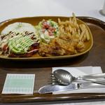 エヌズコート - テリヤキチキン&タコスミートライス2,030円