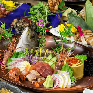 《数量限定》絶品海鮮料理2000円より