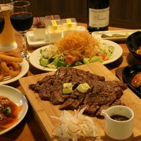 ワイン処 SASAYA - ステーキコース