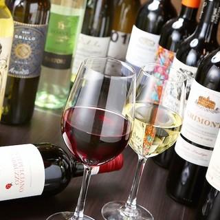 ワインとお料理