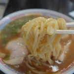 ○京 - (2017/5月)「中華そば」の麺