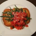 イタリアン 四谷マル - ローマ風カツレツ フレッシュトマトソース