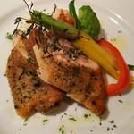 イタリアン 四谷マル - 国産鶏のハーブグリル 海塩とレモン添え