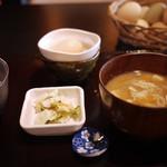のどか牧場直営 たまご屋キッチン - 卵がけご飯定食~☆