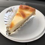 トロイカ - ベークド・チーズケーキ カット